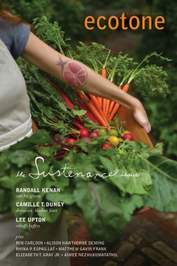 Ecotone Issue 18 Cover