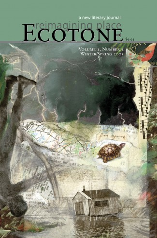 Ecotone Issue 1 Cover