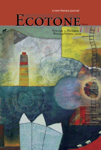 Ecotone Issue 2 Cover